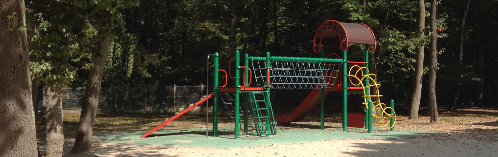Le parc de l'école …